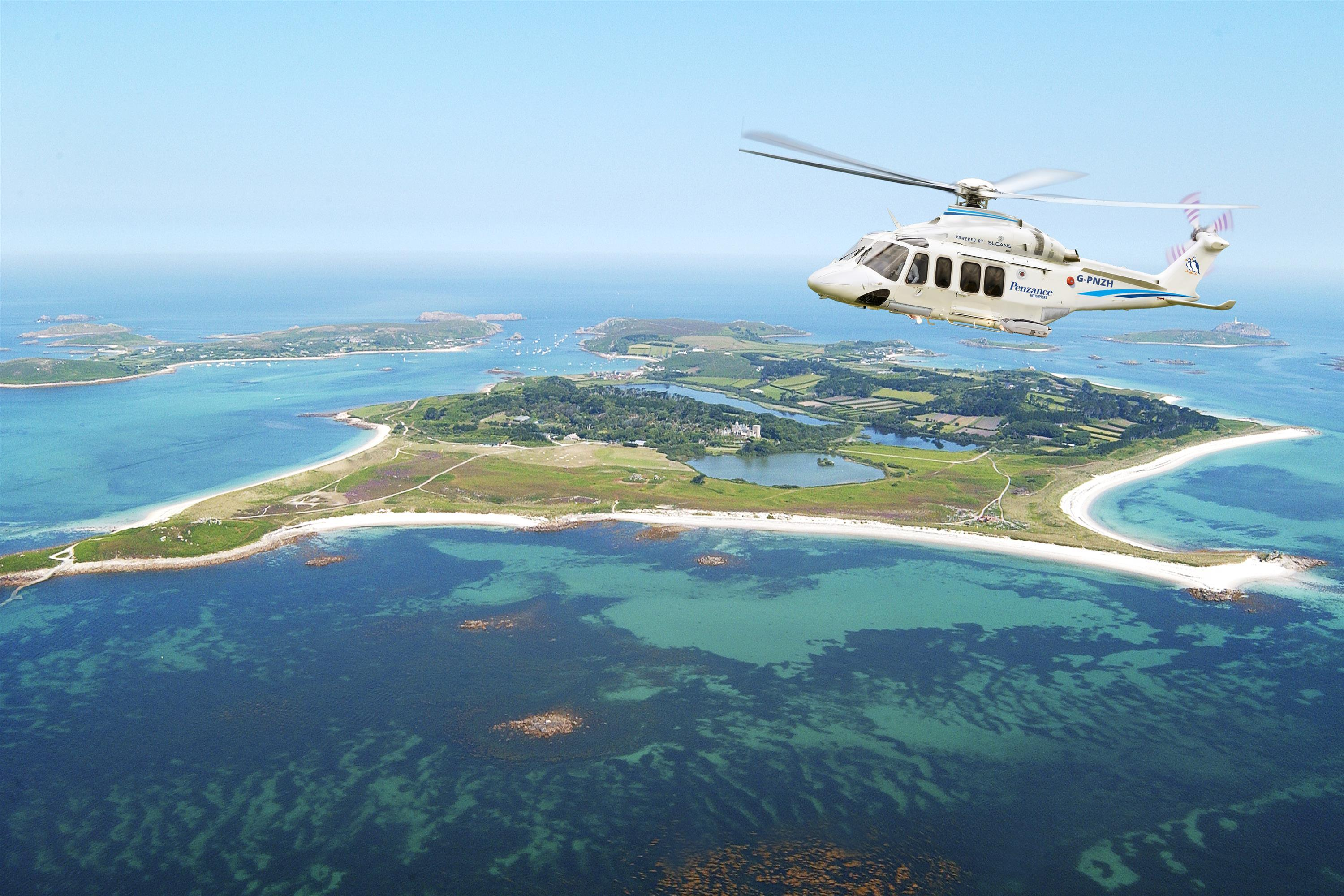 By Helicopter - Direct to Tresco