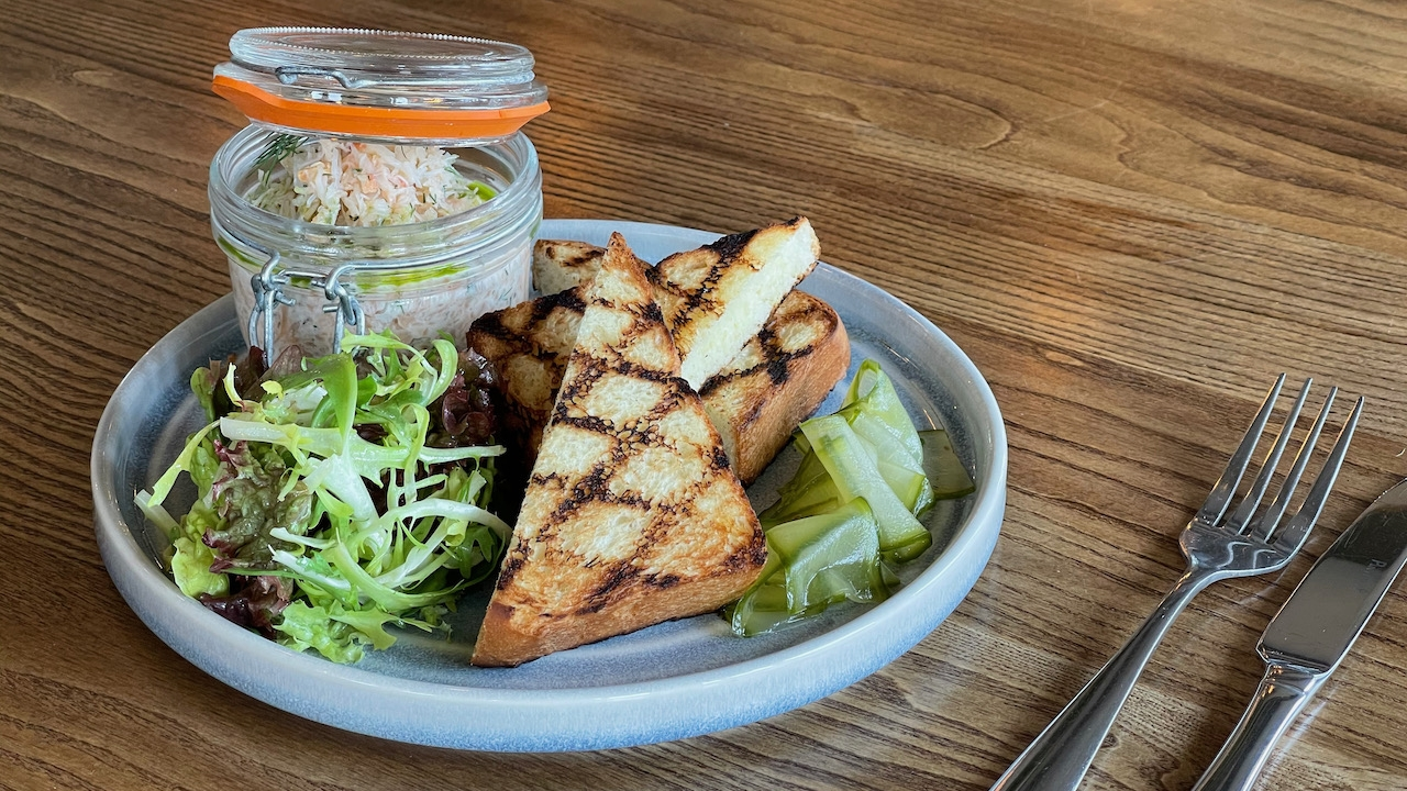 New Inn St Ives Smoked Salmon Pate 3