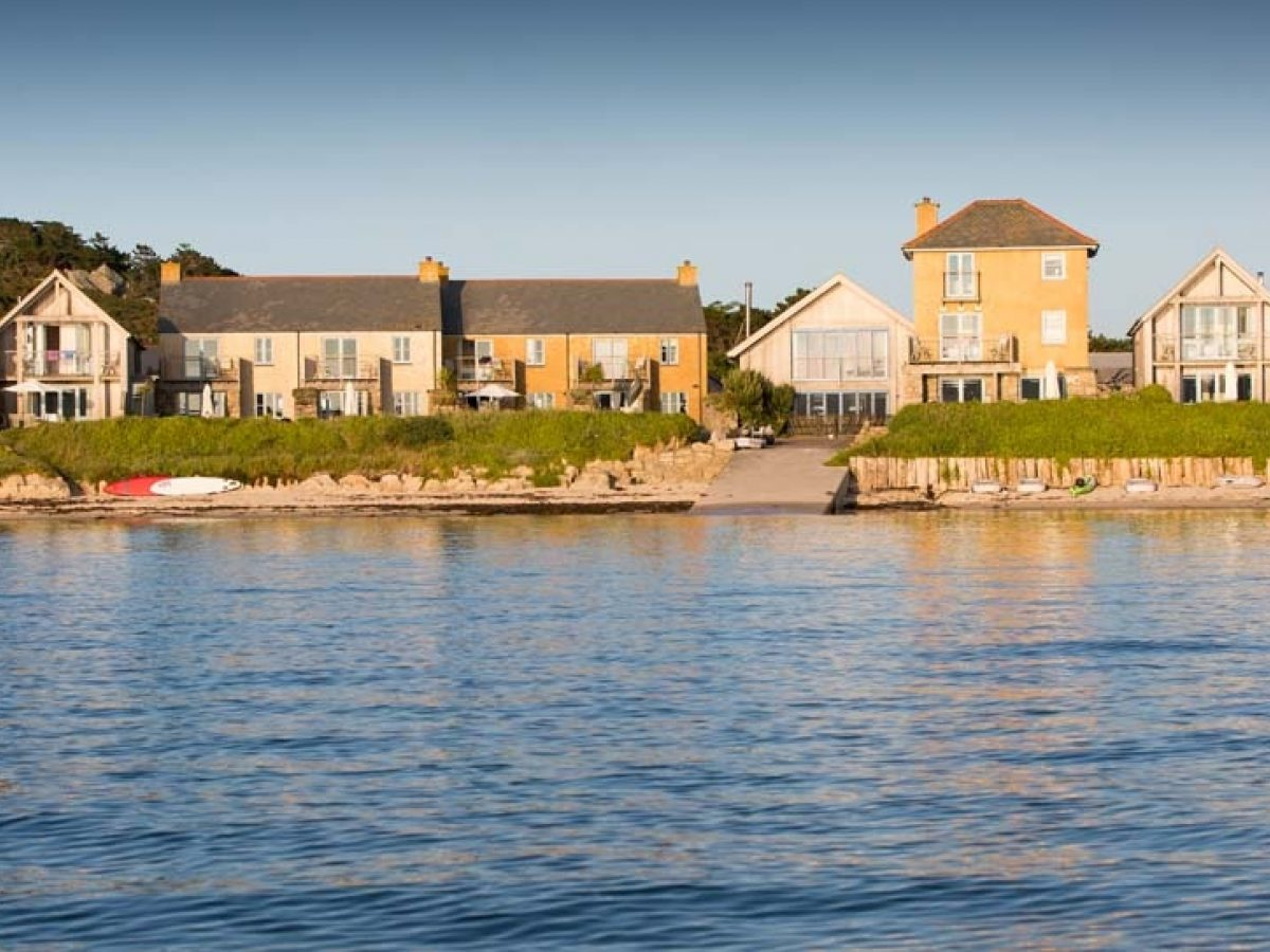 Flying Boat Cottages on Tresco Isles of Scilly